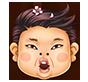 韓流櫻花大叔面具