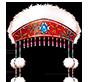蒙古大妃舞帽